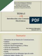 Introducción a las comunicaciones electrónicas