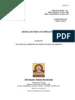 OISD-STD-214_latest Cross Country Lpg Pipelines