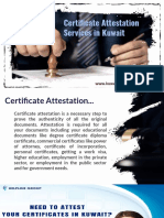 Quick, Easy & Hassle-Free Certificate Attestation Services in Kuwait…