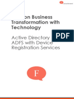 Business Transformation with Active Directory