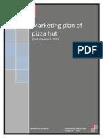 101374940 Marketing Plan of Pizza Hut