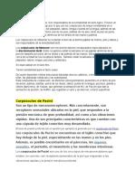 - Corpusculos de Miessner - Labios, Parp, Anteb,...