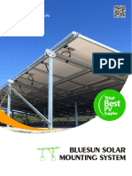 Bluesun Solar Mounting System-- Catalogue(March)