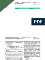 Laringitis subglótica