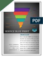 Service Blue Print of Smarts Gym- Sana Ambreen - 01121192011