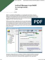 Internet Download Manager 6.32 Build 06 Fix IDM is Corrupt 2019 _ LayarSoft.com