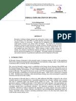 Unu Gtp Sc 23 0706 Geothermal Exploration in Rwanda