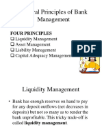 liquidity management  in bank management principles