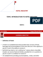 Hotel Introduction