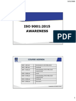 Awareness Programme ISO 9001