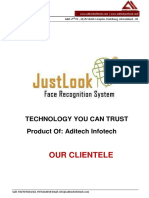 Face Recognition System JustLook
