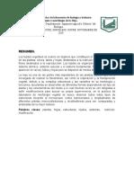 Informe de La Práctica de Laboratorio de Biología y Botánica La Hoja
