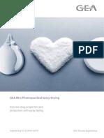 Pharmaceutical Spray Drying