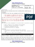 Cs201 Assignment Solution