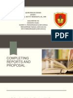 Completing Reports and Proposal Kelompok 7