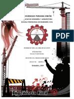 Informe de Construcciones