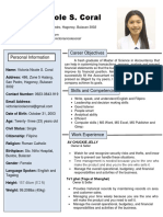 Totoong Resume 1