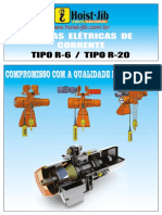 1Final - Catalogo Talha Elétrica de Corrente Hoist-Jib