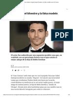 Miguel Ángel Silvestre y la falsa modelo rusa