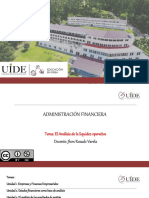 Tutoría 10 Administración Financiera