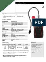 Gas Detector Catalog