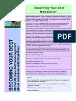 Becoming Your Best Newsletter - November 2010
