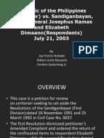 RP vs. Ramas