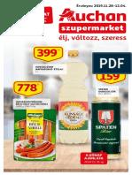 Auchan Szupermarket Akcios Ujsag 20191128 1204
