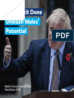 Tory Welsh Manifesto 2019