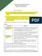 LSGI1D03 Assignment Instructions 201920 Sem1