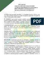 Declaratia ONG de Mediu Program Guvern 21.11.2019