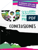 Conclusiones ENM chubut