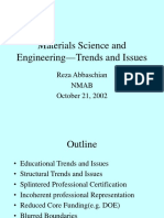 Materials Science Program