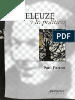 Patton - Deleuze y lo politico.pdf