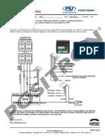 Acionamento Dos VE via Alarmes Pósitron - Ecosport e Fiesta 2006 Em Diante (Vidros Automatizados) (Ford)