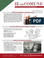 Notizie Dal Comune di Borgomanero del 22-11-2019