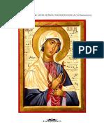 Canon de Rugăciune Către Sfânta Muceniţă Cecilia