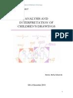 Analysis of children's drawings