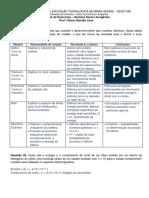 Respostas-Lista de Exerccios 1 - Qumica Geral e Inorgnica-Diana