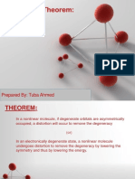 Jahn-Teller theorm