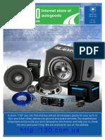 Manual Car Amplifier Audison VRx 6 Direct (1)