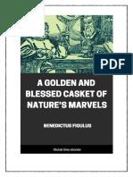 Golden and Blessed Casket of Natures Marvels
