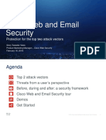 Cisco web and email security overview