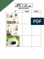 Wall Sticker