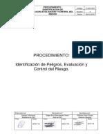 P-SSO-003 Procedimiento de Identificación y control de Riesgos 2019.docx