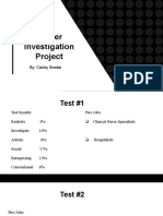 career investigation project