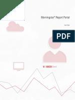 Report Portal User Guide_End User_2016