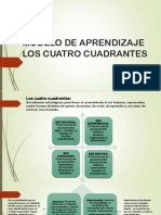 Modelo de Aprendizaje Los Cuatro Cuadrantes