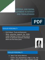 socio emotional development of toddlers