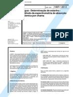 ABNT -DETERMINAÇÃO DE estanho.PDF